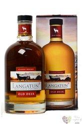 "Langatun "" Old Deer classic "" Swiss single malt whisky 40% vol.   0.70 l"