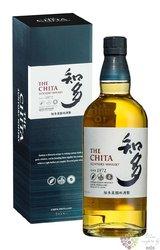 the Chita Japanese single grain whisky by Suntory 43% vol.  0.70 l