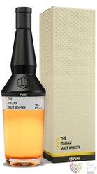 "Puni "" Gold "" Italian single malt whisky 43% vol.  0.70 l"