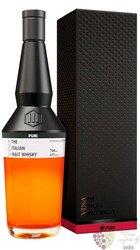 """Puni """" Vina """" Italian single malt whisky 43% vol.  0.70 l"""