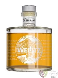 "Weutz "" Green Panter "" single malt Austrian whisky 40.8% vol.   0.50 l"