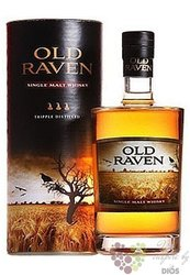 Old Raven single malt Austrian whisky 42% vol.   0.50 l