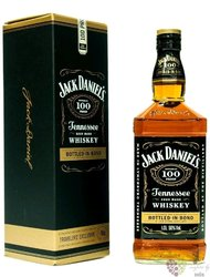 """Jack Daniels """" Bottled in Bond at 100 proof """" Tennessee whiskey 50% vol.  1.00l"""