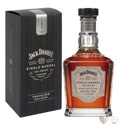 "Jack Daniels "" Single barrel select 100 proof "" Tennessee whiskey   50%  0.70 l"