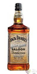 "Jack Daniel´s "" 120th ann. of White Rabbit Saloon "" gift box Tennessee whiskey 43% vol.   0.70 l"
