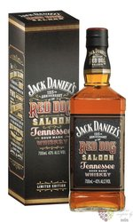 """Jack Daniels """" Red dog Saloon """" gift box sour mash Tennessee whiskey 43% vol.0.70 l"""