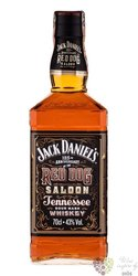 """Jack Daniels """" Red dog Saloon """" sour mash Tennessee whiskey 43% vol.  0.70 l"""