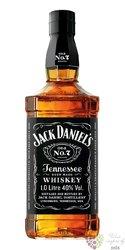 """Jack Daniels """" Black label """" Tennessee whiskey 40% vol.  1.00 l"""