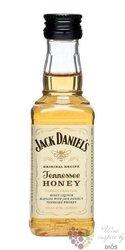 "Jack Daniels "" Honey "" flavored Tennessee whiskey liqueur 35% vol.  0.05 l"