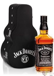 "Jack Daniel´s "" Black label "" guitar pack Tennessee whiskey 40% vol.  0.70 l"