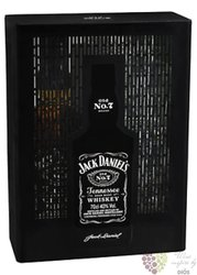 "Jack Daniel´s "" Black label "" 2glass set ed. 2017 Tennessee whiskey 40% vol.  0.70 l"