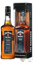 "Jim Beam "" Black ed. 2014 "" aged 6 years metal box Kentucky straight bourbon 43% vol.    0.70 l"
