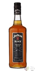 "Jim Beam "" Black Triple aged "" aged 6 years Kentucky straight bourbon whiskey 43% vol.    0.70 l"