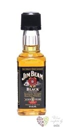 Jim Beam � Black label � aged 8 years Kentucky Straight Bourbon whiskey 43% vol.    0.05 l