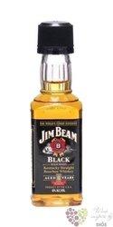 "Jim Beam "" Black label "" aged 8 years Kentucky Straight Bourbon whiskey 43% vol.    0.05 l"