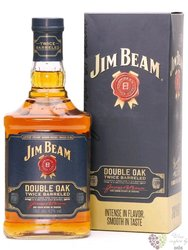 "Jim Beam "" Double oak "" Kentucky straight bourbon whiskey 43% vol.  1.00 l"