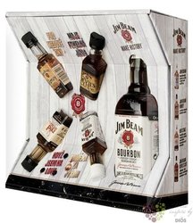 Jim Beam � White label � 4mini pack Kentucky straight bourbon whiskey 40% vol. 0.50 l