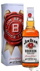 "Jim Beam "" White label "" metal box 2017 Kentucky straight bourbon whiskey 40% vol.   0.70 l"