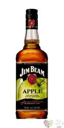 "Jim Beam "" Apple "" Kentucky straight bourbon whiskey liqueur 35% vol.   1.00 l"