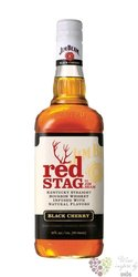 "Jim Beam "" Red Stag Black cherry "" flavored bourbon whiskey 40% vol.    1.00 l"