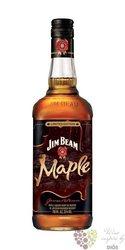 "Jim Beam "" Maple "" flavored Kentucky straight bourbon whiskey liqueur 35% vol.0.70 l"