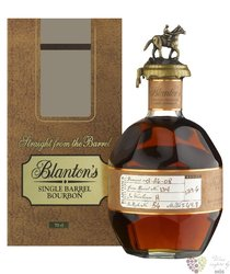 "Blanton´s "" Straight from the barrel "" Kentucky straight bourbon whiskey 65% vol.   0.70 l"