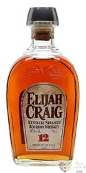 Elijah Craig 12 years old Small Batch Kentucky Straight bourbon whiskey 47% vol.    0.70 l