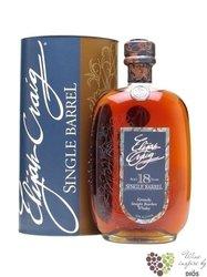 "Elijah Craig "" Single barrel "" aged 18 years Kentucky Straight Bourbon whiskey 45% vol.     0.70 l"