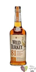 "Wild Turkey "" 81 "" Kentucky straight bourbon whiskey 40.5% vol.    1.00 l"
