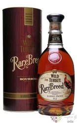 "Wild Turkey "" Rare Breed "" barrel proof Kentucky straight bourbon whiskey 56.4%vol.    0.70 l"