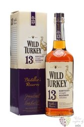 "Wild Turkey "" Distiller´s reserve "" aged 13 years Kentucky straight bourbon 45.5% vol.    0.70 l"