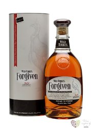 "Wild Turkey "" Forgiven "" Kentucky straight bourbon & rye whiskey 45.5% vol.   0.70 l"