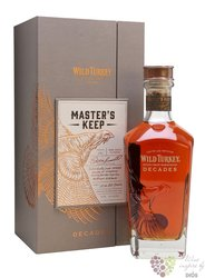 "Wild Turkey  "" Master´s keep Decades 2nd Release "" Kentucky straight bourbon whiskey 52% vol. 0.70 l"