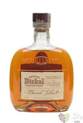 "George Dickel "" Barrel select "" Tennessee whiskey 43% vol.    0.70 l"
