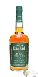 "George Dickel "" Rye "" american whiskey 45% vol.    1.00 l"