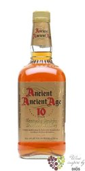 "Ancient Age "" 10 stars "" aged 10 years Kentucky straight bourbon whiskey 40% vol.   0.70 l"