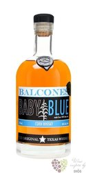 "Balcones "" Baby blue "" original Blue corn whisky of Texas 46% vol.    0.70 l"