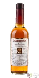 "Copper Fox "" Rye "" American grain spirits by Wasmund´s 45% vol.  0.70 l"