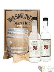 "Copper Fox "" Rye barrel pack "" American rye spirits by Wasmund´s 62% vol.   2x0.70 l"