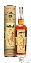 "E.H.Taylor "" Straight Rye "" American whisky by Buffalo Trace 50% vol.     0.70 l"