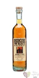 "High west "" Double rye "" straight rye American whiskey 46% vol.    0.70 l"