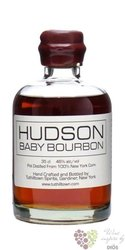 "Hudson "" Baby bourbon "" American - New York corn whisky by Tuthilltown distillery 46% vol.   0.35 l"