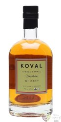 "Koval "" Bourbon "" Single barrel Illinois whiskey 47% vol.  0.50 l"