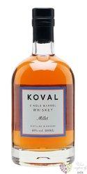 "Koval "" Millet "" Single barrel Illinois whiskey 40% vol.  0.50 l"