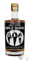 "Corsair "" Triple smoke "" smal batch American single malt whiskey 40% vol.    0.70 l"