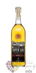 Crater Lake rye whiskey by Oregons Ben distillery 40% vol.   0.70 l