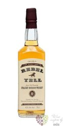 Rebel Yell previous label Kentucky straight bourbon whiskey 40% vol.   0.70 l