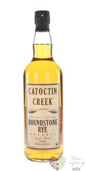 "Catoctin creek "" Roundstone 92 "" Virginia organic rye whisky 46% vol.   0.70 l"