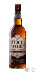 "Catoctin creek "" Roundstone "" Virginia organic rye whisky 40% vol.   0.70 l"