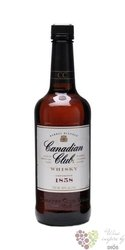 "Canadian Club "" Barrel blended "" aged 6 years Canadian whisky 40% vol.    0.70 l"